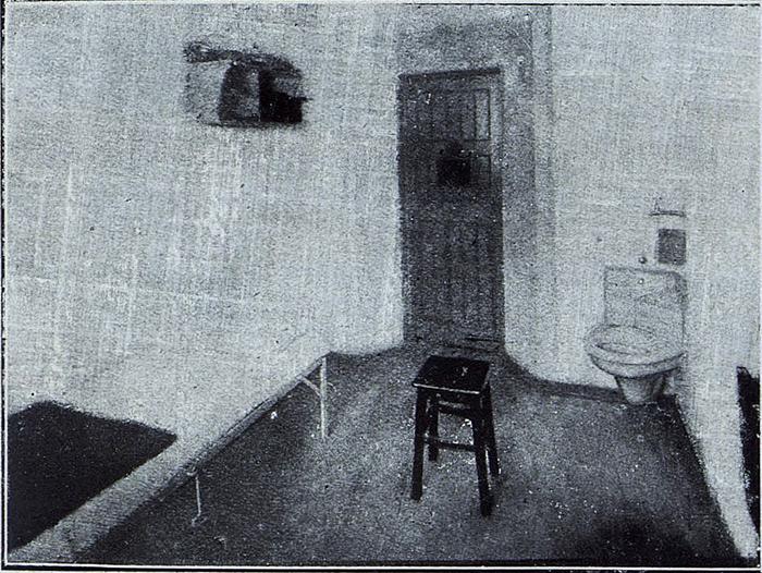 Cubiculo na Casa de Detenção em São Paulo (1923)